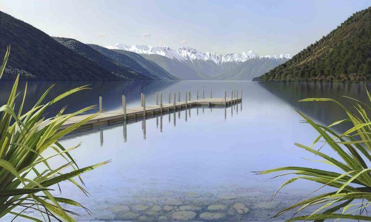 Lake Rotoroa Nouvelle Zélande Peter Geen