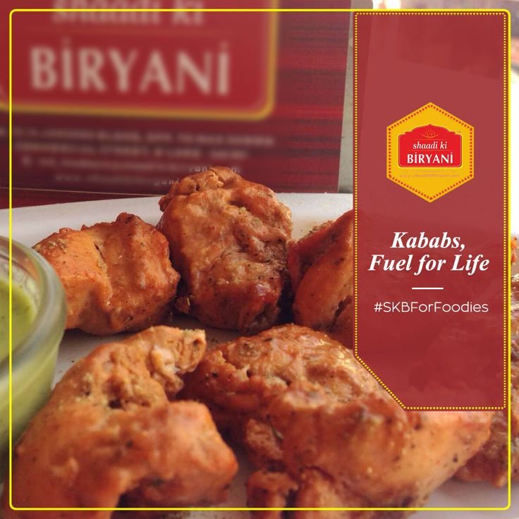 #SKBForFoodies There is a new fuel that is all the rage . The SKB Kababs the new fuel for life! Eat well to live well. #KababsisFuel #IDontShareMyKababs #KababsMyNewBaap #ObeyNewBaap #KababRules #ShaadiKiBiryani