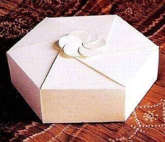 scatolina esagonale