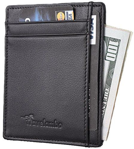 Travelambo RFID Front Pocket Wallet Minimalist Wallet Sli... https://www.amazon.com/dp/B01FICEHJE/ref=cm_sw_r_pi_dp_x_3SPaybB9H8ARD