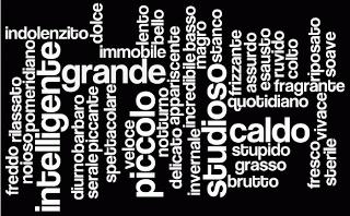 Alcuni aggettivi di opinione - Some Italian opinion adjectives