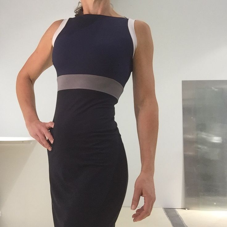 Jersey dress from the SS2016 collection by Mette Møller.
