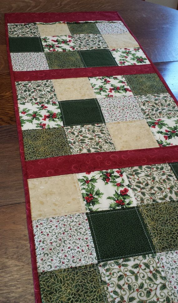 Hey, I found this really awesome Etsy listing at https://www.etsy.com/listing/212474348/quilted-christmas-table-runnerquilted