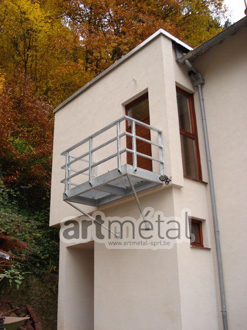 Art Metal Structures Et Terrasses Terrasse Suspendue Terrasse Terrasse Beton