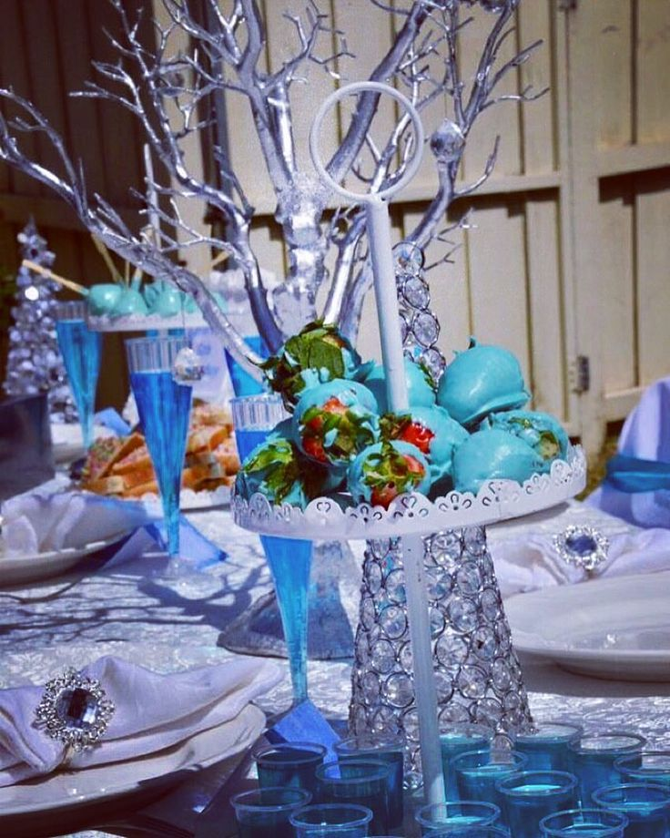Frosty #WinterWonderland High Tea #KidsParty