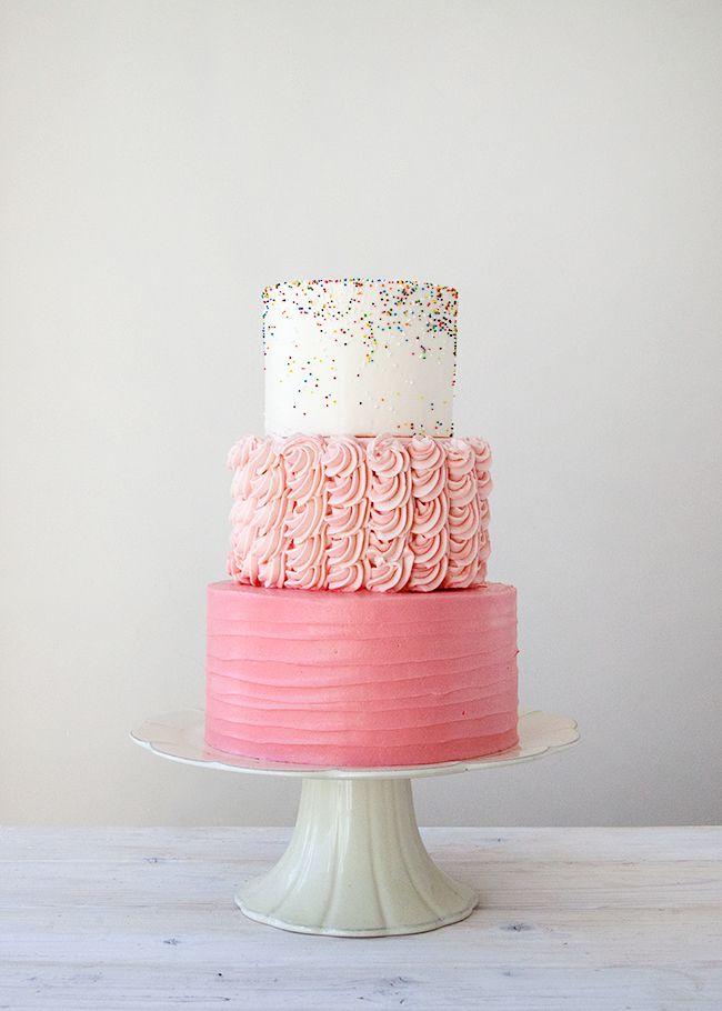 sprinkles + ruffles + pink