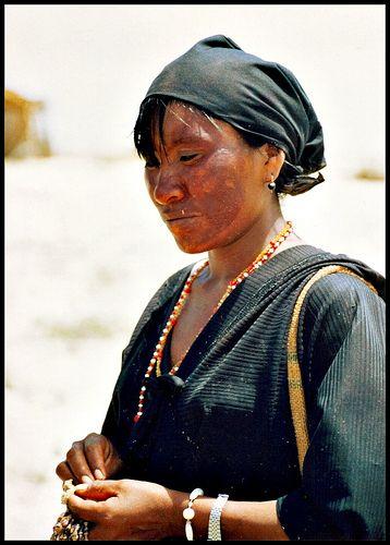 mujer guajira Colombia