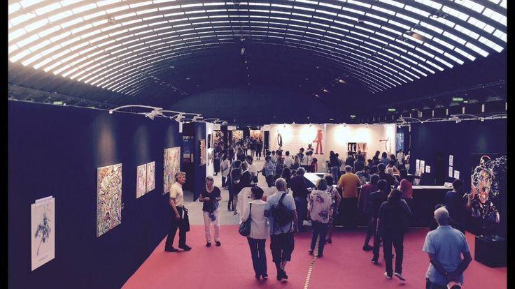 Amateurs d'art bonjour ! la @ColorfieldGal vous attend au #Art3f de #Mulhouse aujourd'hui de 16h à 23h !