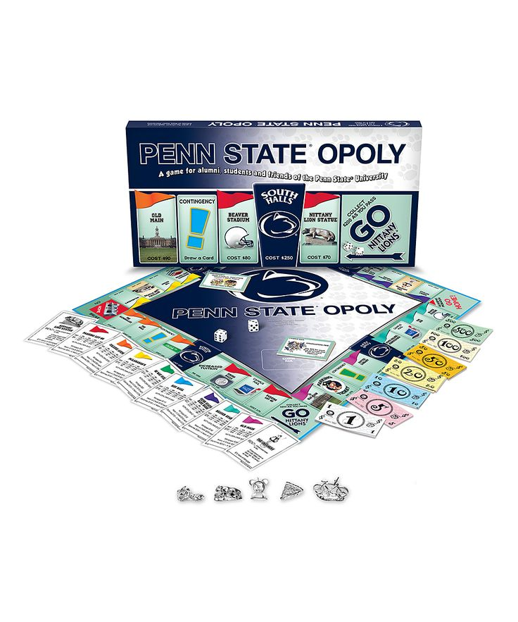Penn State-Opoly Board Game