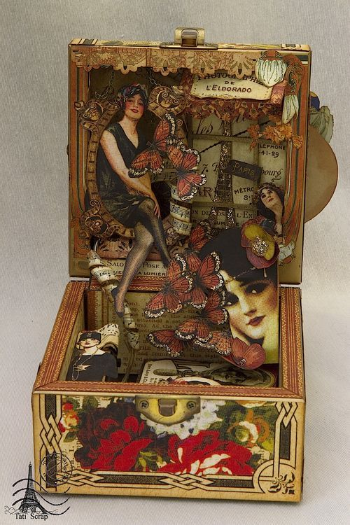 Crafts Using Cigar Boxes