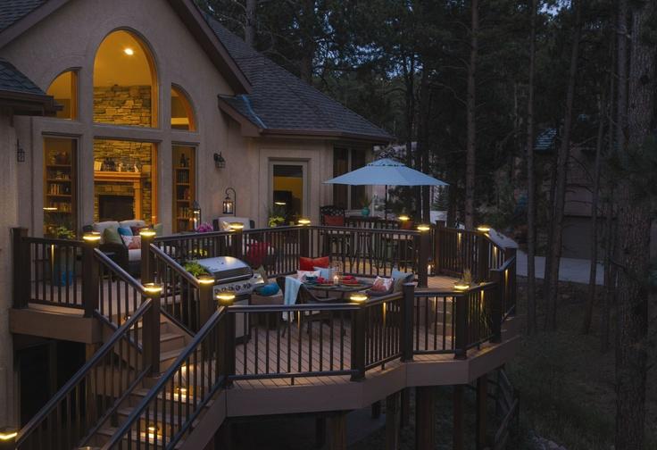 136 best timbertech decks images on pinterest. Black Bedroom Furniture Sets. Home Design Ideas