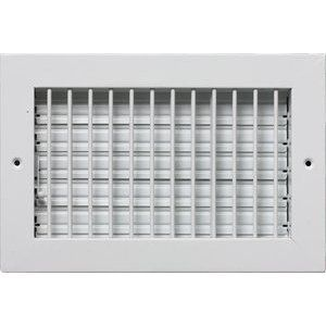 "10"" x 4"" ADJUSTABLE DIFFUSER - Vent Duct Cover - Grille Register - Sidewall or Cieling - High Airflow - Amazon.com"