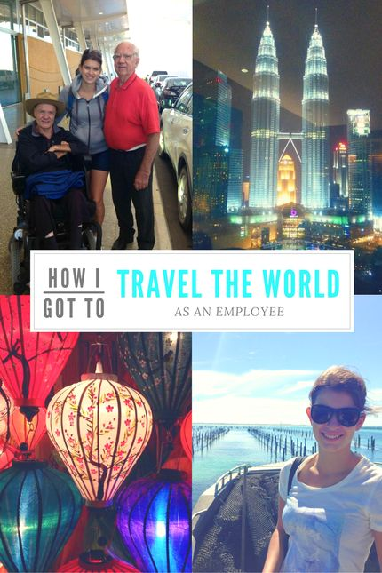 How I Got To Travel The World As An Employee. I never thought this was something that was possible! I mean, I'm not employed by an international company that sends me places to represent it so how could I be travelling and employed at the same time? - Be Yourself by Charlie
