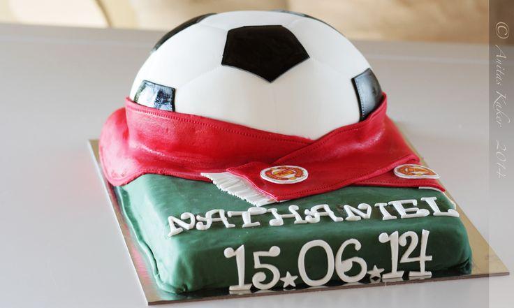ManU cake,fotball kake