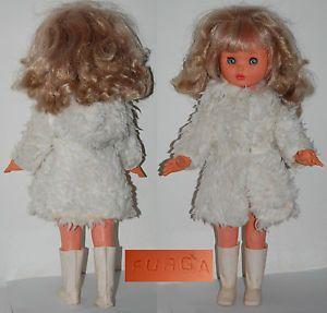 FURGA-bambola-PATRIZIA-serie-3P-anni-70-Dolls-poupees-vintage-1970
