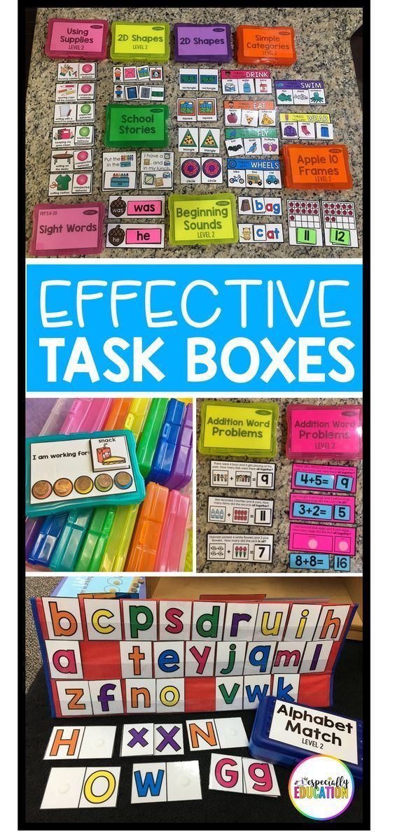 Setting up an effective independent work station is a game changer in the special education classroom!