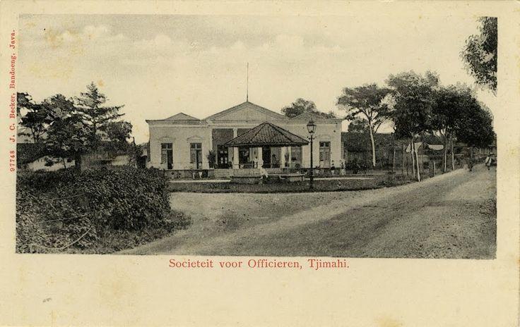 Societeit voor Officieren te Tjimahi 1895 - 1910