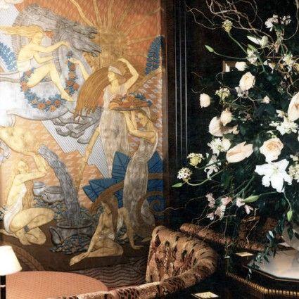 1000 images about art deco murals on pinterest murals for Art nouveau mural