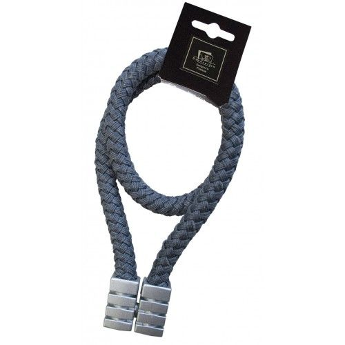 Magnetic Plaited Rope Grey