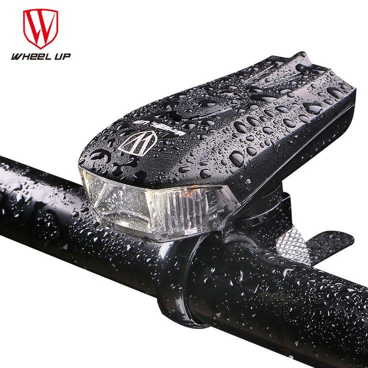 RAD UP 2017 LED USB Aufladbare Fahrradlicht Front-lichter Wasserdicht MTB Rennrad blitzlicht Touch Nacht Sichere