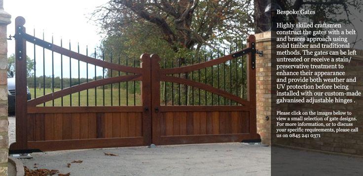 Wooden Gates, Driveway Gates, Swing Gates, Sliding Gates, Entrance Gates, Electric Gates.http://hbpaynter.co.uk/wooden-gates.php