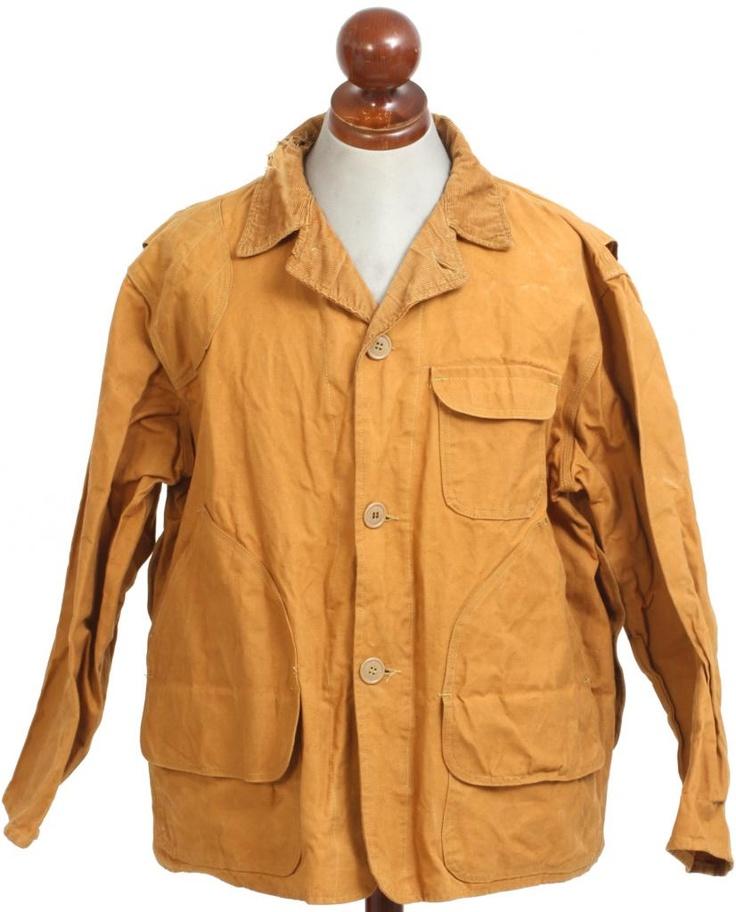 Vintage 1960s Belknap men's hunting jacket field coat canvas duck
