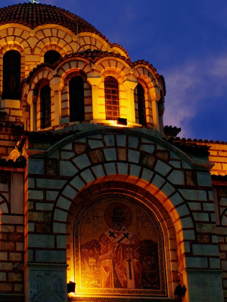 St Nicolas, Volos, Greece.