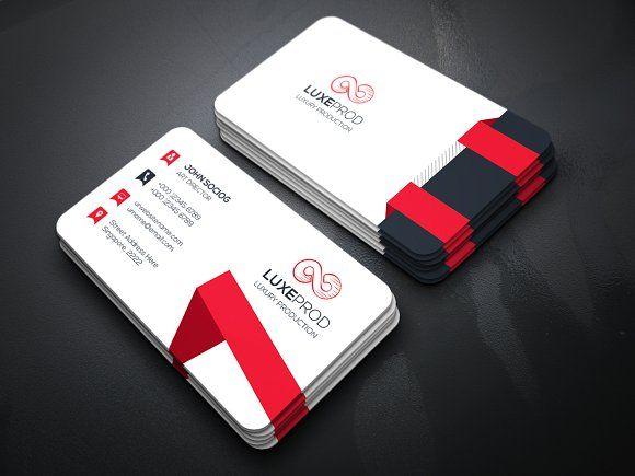 Arrow Business Card by Creative Idea on @creativemarket