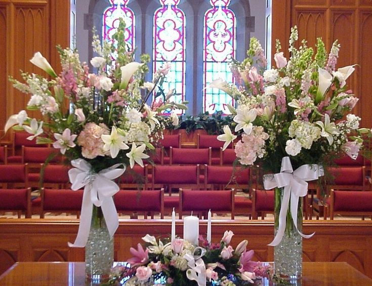 wedding church flowers altar decorations shannon s custom florals church wedding decorations 50 8959