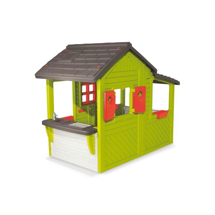 die besten 25 spielhaus smoby ideen auf pinterest smoby rutsche kindermotorrad und nerf. Black Bedroom Furniture Sets. Home Design Ideas