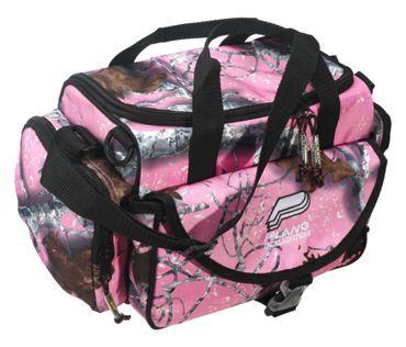 Plano pink camo tackle bag bass pro shops gone fishin for Bass pro fishing backpack