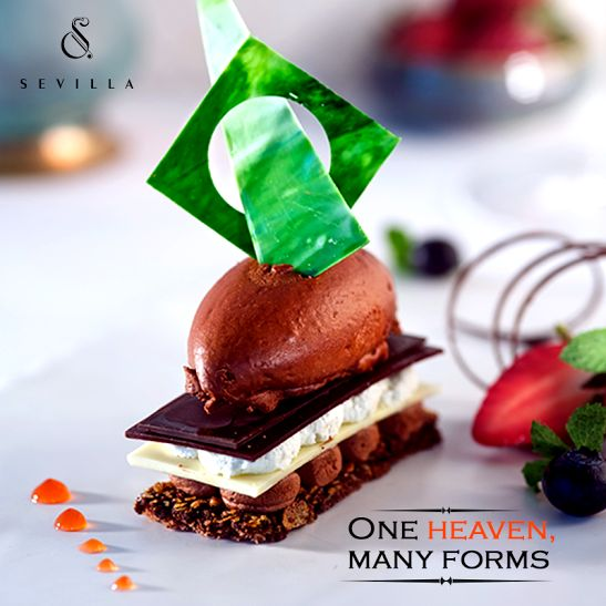 lovers of chocolate, prepare to rejoice with our sinful Chocolate Mousse at The Claridges, this Chocolate Day!