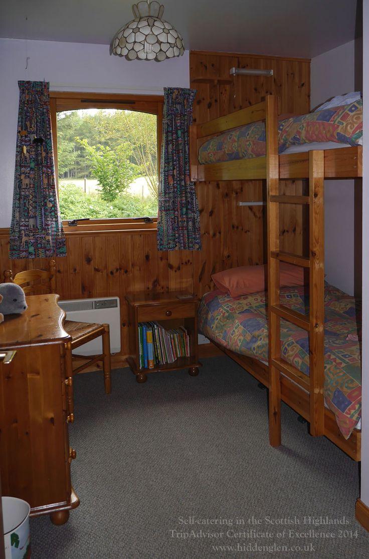 Lodge bunk room.
