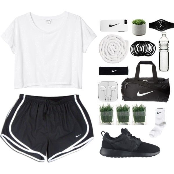 N I K E by aria-97 on Polyvore featuring Monki, NIKE, Ice-Watch, VIPP, Sagaform, bedroom and nike