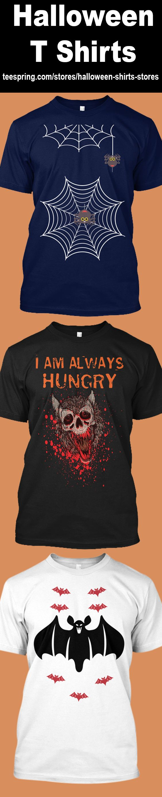 Choose your favorite Halloween shirt from a wide variety of unique high-quality designs in various styles, colors and fits. Shop online at Teespring (halloween t shirt store) now! #halloween #Costume #HalloweenStore #HappyHalloween