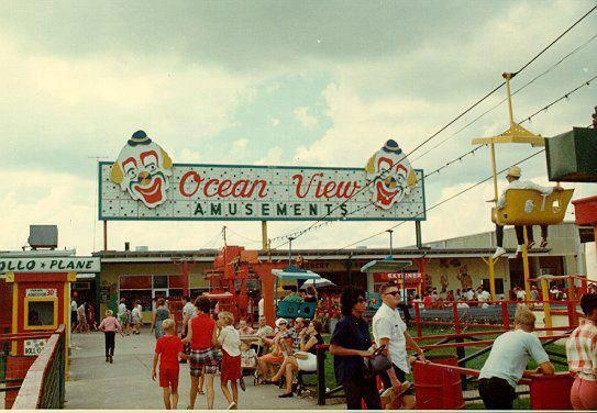 Ocean View, Norfolk, VA. Yes, there used to be an amusement park on the beach!
