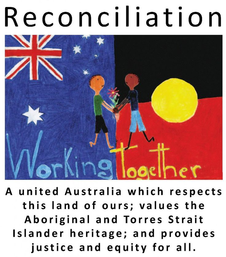Reconciliation Week - this is a great image that can be adapted into a classroom to show the importances of reconciliation.