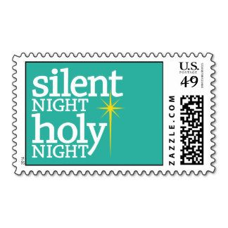 Silent Night, Holy Night Christian Christmas Postage http://www.zazzle.com/MarshEnterprises?rf=238481928796519839