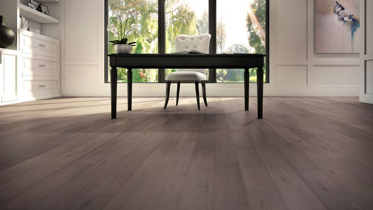 Designed to truly highlight and complement wood's innate character and beauty, this style accentuates the color contrasts in the grain. Paired with our wire-brushed texture, it masks the effects of daily traffic. Give your space real personality with this beautiful hardwood flooring style whose flaws make it flawless. #hardwoodfloor #interiordesign #homedecor #lauzon #artfromnature