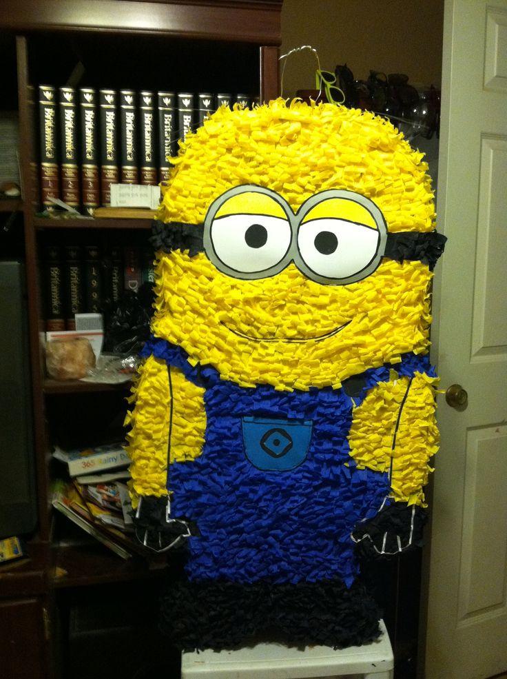 Piñata minion Rush | Decoraciones para fiestas | Pinterest ...