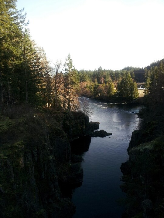 Elk Falls, Campbell River, B.C.