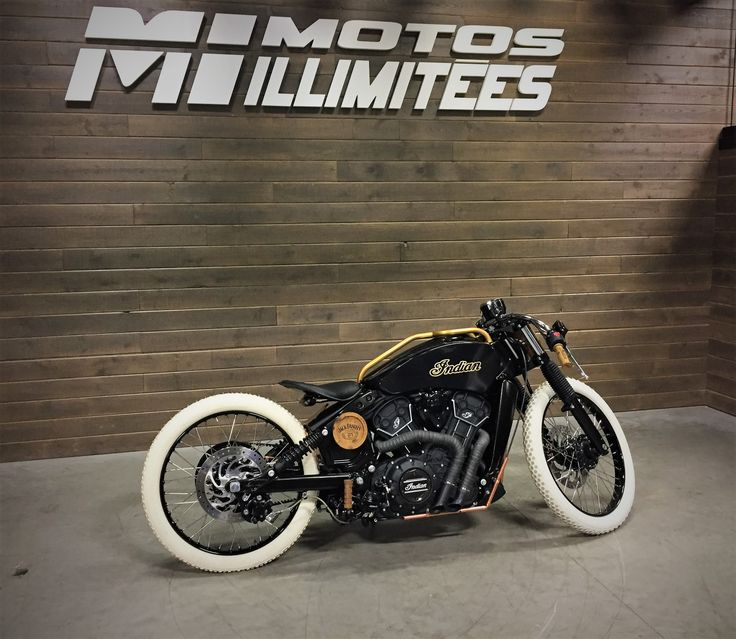 custom black indian motorcycle boardtracker cafe racer jack