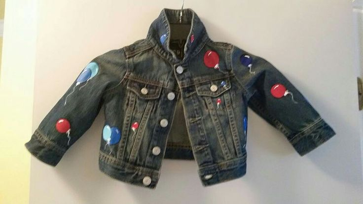 Handpainted children's jacket