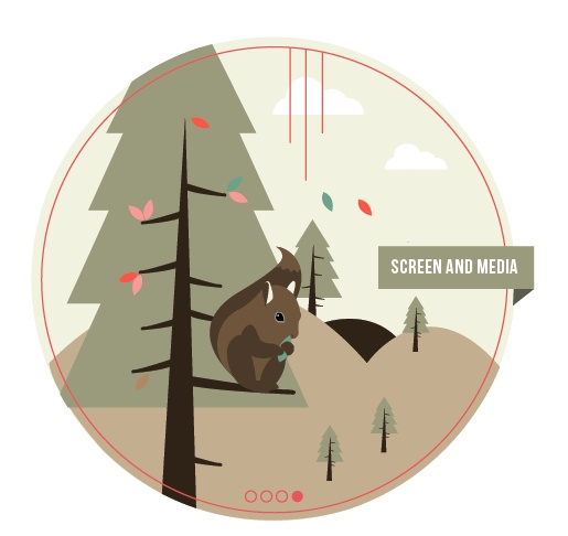Screen and Media Squirel