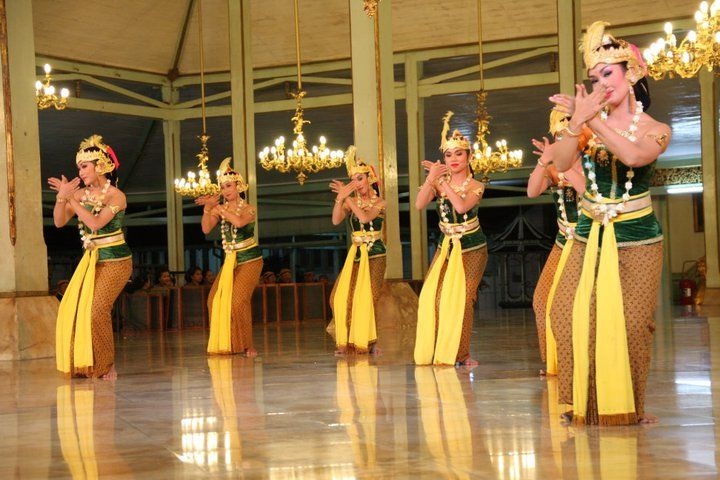 Central Java Gambyong Dance - Indonesia