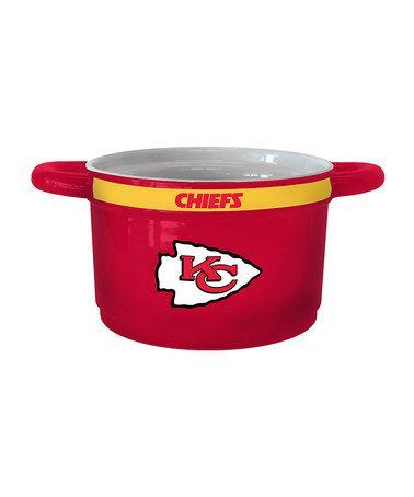 Look what I found on #zulily! Kansas City Chiefs Game-Time Bowl #zulilyfinds