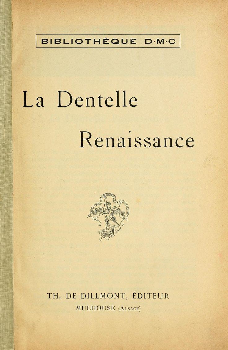La dentelle renaissance