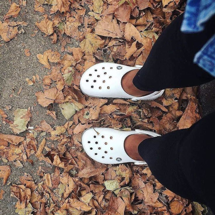Rock this classic style in the Fall  Available in many colours  http://bit.ly/Crocband_Collection