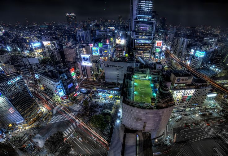 The Big Picture photography competition: round 353 Shibuya neighbourhood in Tokyo, Japan.