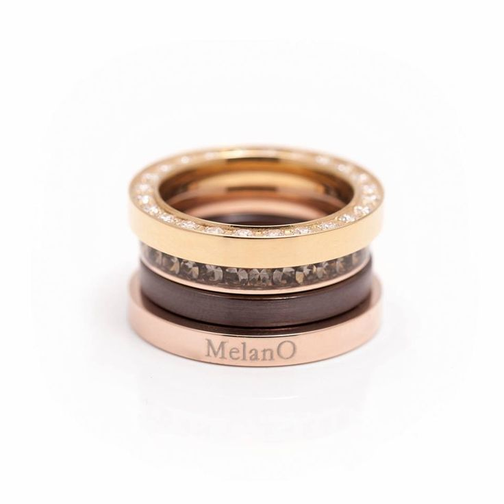 mooie combinatie MelanO ringen